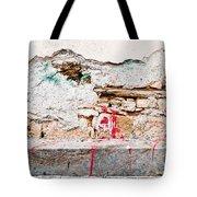 Damaged Wall Tote Bag