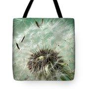 Dandelion Seeds On Flower Head Tote Bag