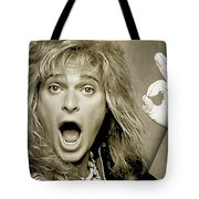 David Lee Roth Collection Tote Bag