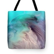 Degraded Landscape In Poland. Destroyed Land. View From Above.  Tote Bag