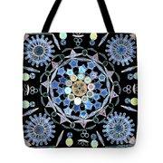 Diatoms Tote Bag by M I Walker