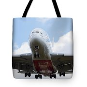 Emirates Airbus A380 Tote Bag