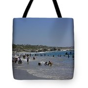 Enjoying A Day At The Beach Tote Bag