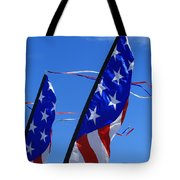 Patriotic Flying Kite Tote Bag