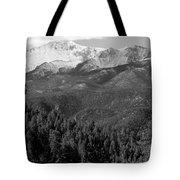 Fresh Snow On Pikes Peak Tote Bag
