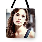 Gal Gadot Art Tote Bag