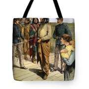 Geronimo 1829-1909.  To License For Professional Use Visit Granger.com Tote Bag