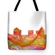 Greensboro North Carolina Skyline Tote Bag