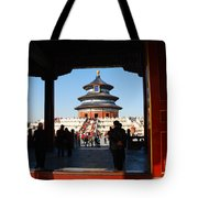 Hall For Prayer Of Good Harvest, Temple Of Heaven, Beijing, China Tote Bag