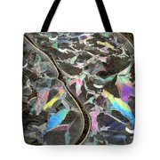 6. Ice Prismatics, Slaley Woods Tote Bag