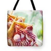 Italian Gelato Gelatto Ice Cream Display In Shop Tote Bag