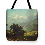 Lake Lucerne Tote Bag