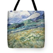 Landscape From Saint-remy Tote Bag