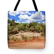 Landscape In Tanzania Tote Bag