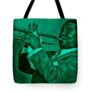 Louis Armstrong Collection Tote Bag