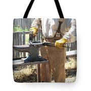 Male Farrier. Tote Bag