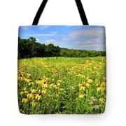Marengo Ridge Wildflowers Tote Bag