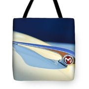 Morris Minor 1000 Hood Ornament Tote Bag
