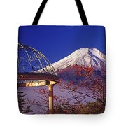 Mount Fuji In Autumn Tote Bag