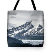 Mountain Range Scenes In June Around Juneau Alaska Tote Bag