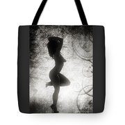 Neemah African American Nude Girl In Sexy Sensual Black And Whit Tote Bag