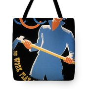 New Deal: Wpa Poster Tote Bag