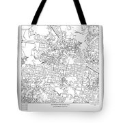 On The Road With 36 Digits Of Pi Tote Bag