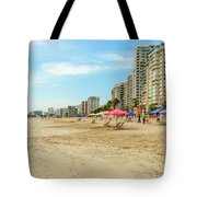 Playa De Chipipe In Salinas, Ecuador Tote Bag