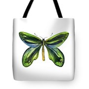 6 Queen Alexandra Butterfly Tote Bag