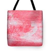 Red Wood Tote Bag