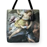 Rendition Of A Guardian Angel Tote Bag