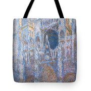 Rouen Cathedral, West Facade Tote Bag