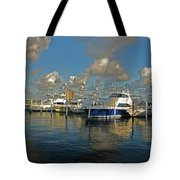 6- Sailfish Marina Tote Bag