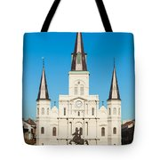 Saint Louis Cathedral Tote Bag