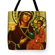 Saint Mary Christian Art Tote Bag