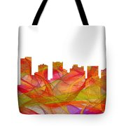Scottsdale Arizona Skyline Tote Bag