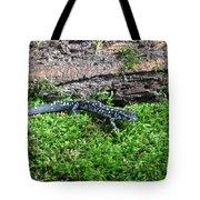 Slimy Salamander Tote Bag