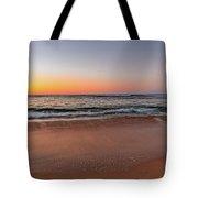 Sunrise Beach Seascape Tote Bag