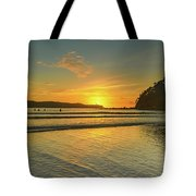 Sunrise Seascape From The Beach Tote Bag