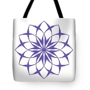6 Third Eye Chakra Tote Bag
