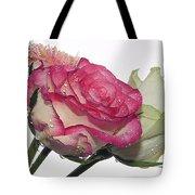 Three Flowers Tote Bag