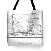 U.s. Coast Guard Cutter Northland Tote Bag