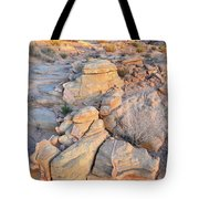 Valley Of Fire Sunrise Tote Bag