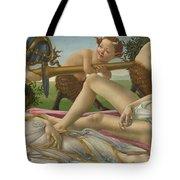 Venus And Mars Tote Bag