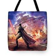 Vintage Star Wars Art Tote Bag