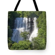 Waterfall In Geiranger Norway Tote Bag