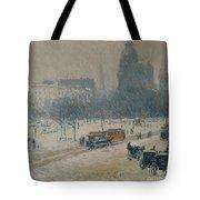 Winter In Union Square Tote Bag