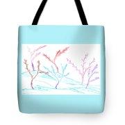 6 Winter Trees Tote Bag