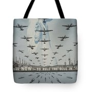World War II Advertisement Tote Bag