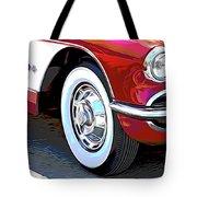 61 Corvette Tote Bag